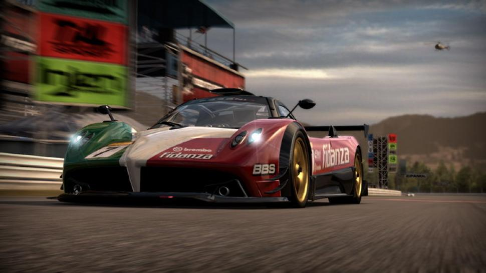 Der Pagani Zonda R im neuen Need for Speed: Shift-Screenshot. (1)