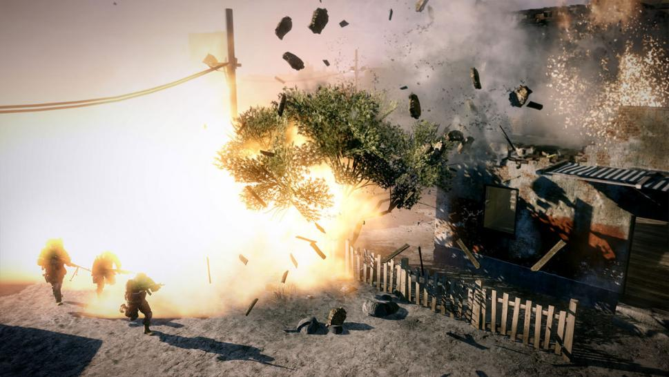 Neue Screenshots zu Battlefield: Bad Company 2.