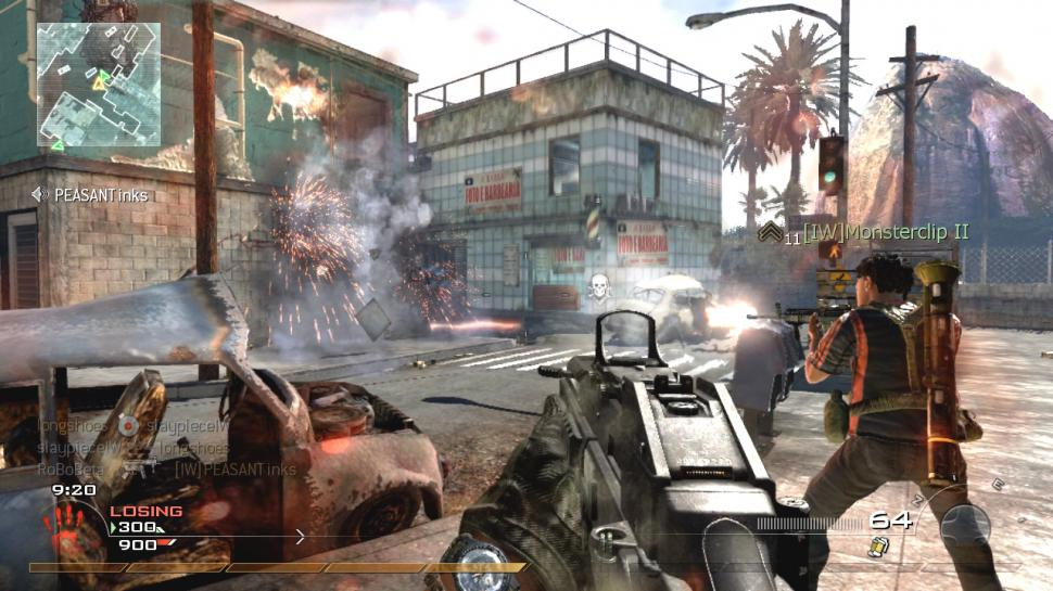 Multiplayer-Screenshots aus Call of Duty: Modern Warfare 2.