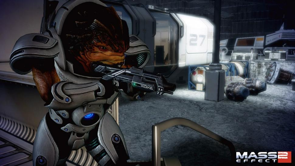 Screenshots aus Mass Effect 2.