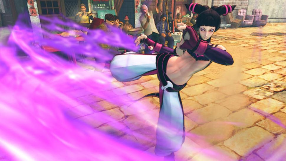 Neue Screenshots aus Super Street Fighter 4.