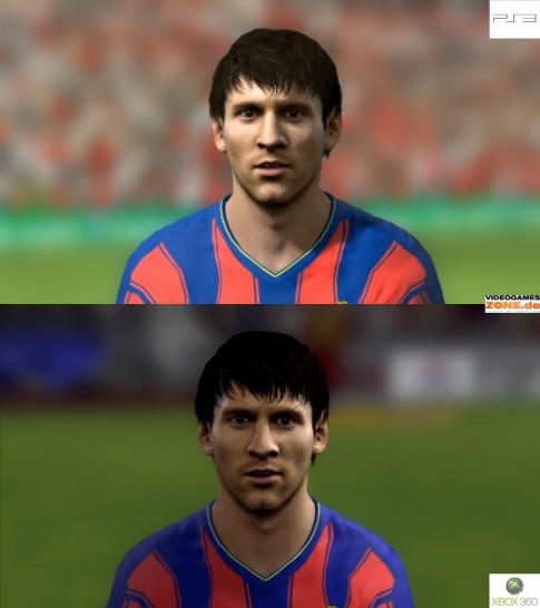 Barca Messi PS3 vs. Xbox 360