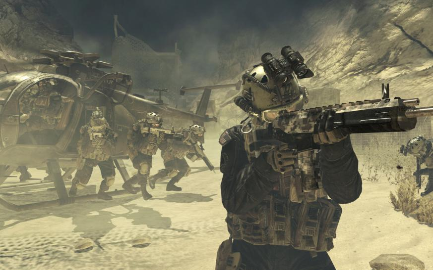 Screenshots aus Call of Duty: Modern Warfare 2.