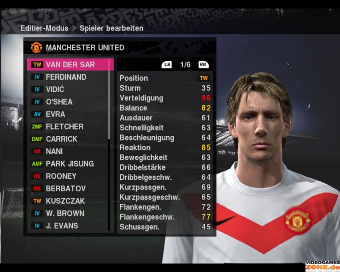 PES 2010 Manchester United 001