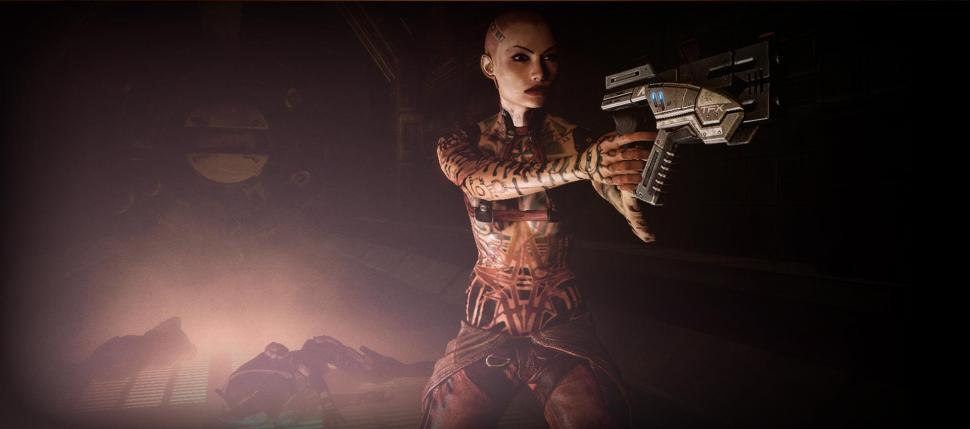 Neuer Subject Zero-Screenshot aus Mass Effect 2.