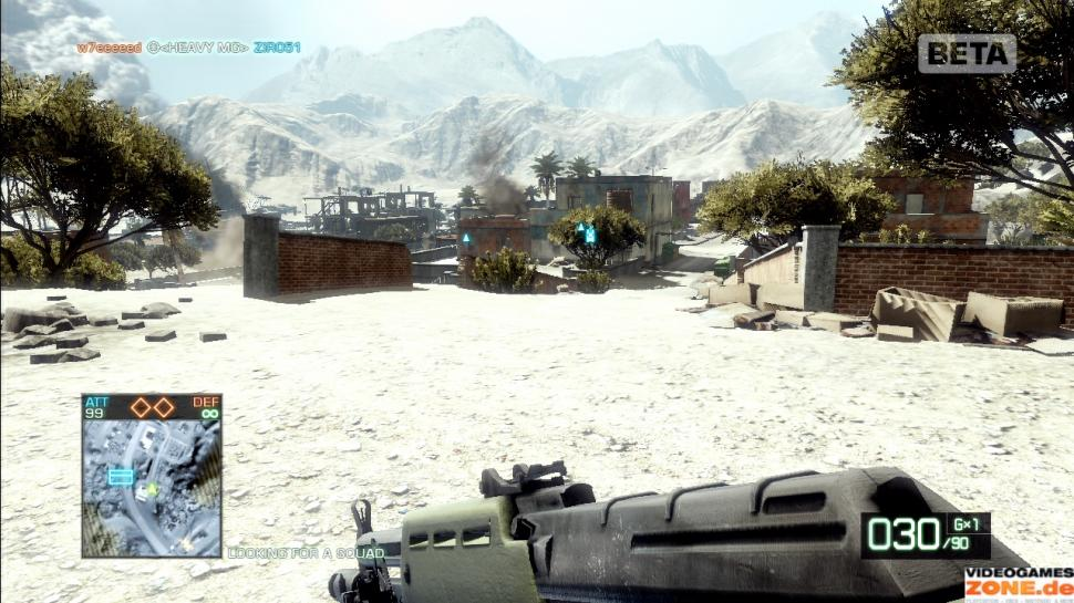 Screenshots aus der Demo-Version von Battlefield: Bad Company 2 (1)