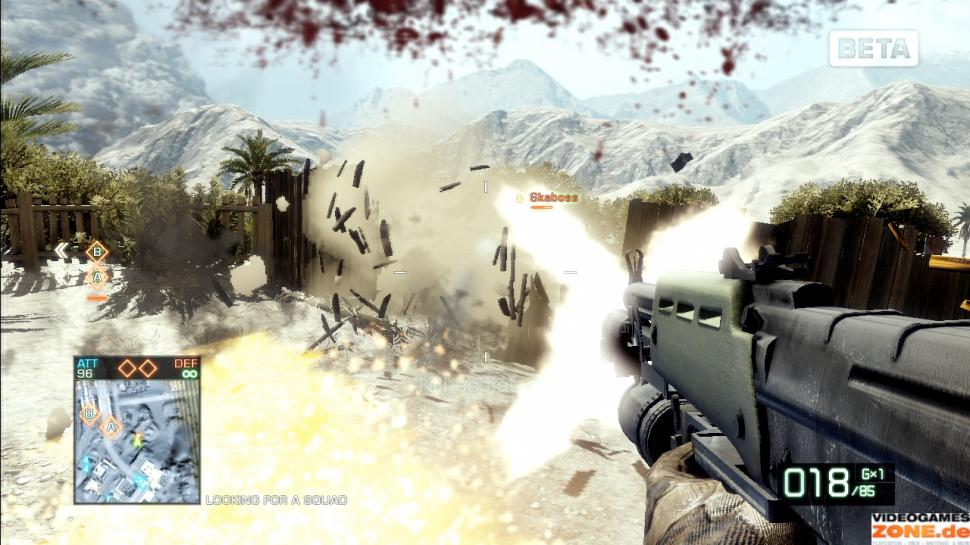 Screenshots aus der Beta-Version von Battlefield: Bad Company 2 (1)