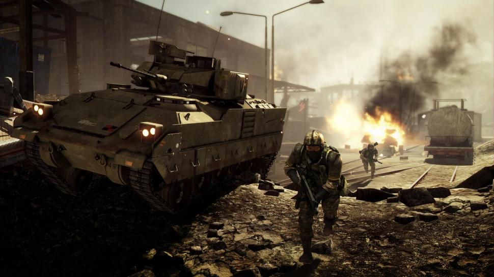 Battlefield: Bad Company 2-Screenshots der Karte Panama Canal.