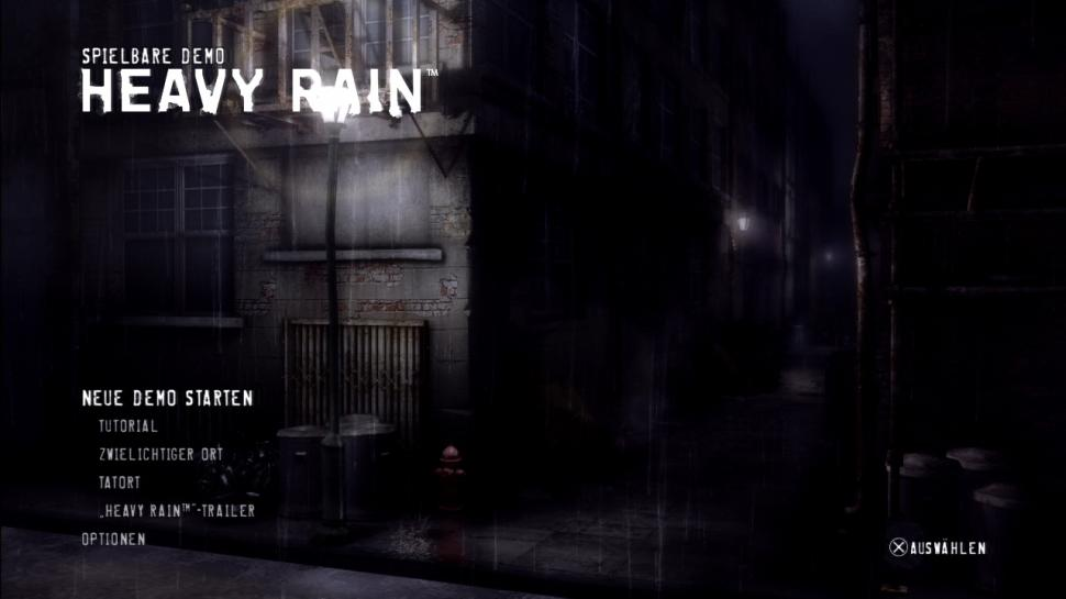 Heavy Rain Demo 720p screenshot 27 - Heavy Rain Demno Download