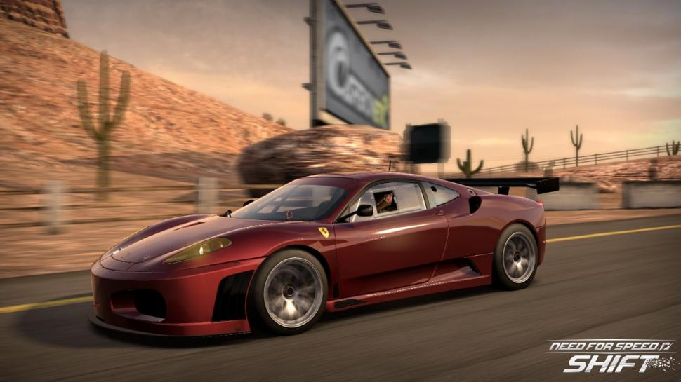 Erste Screenshots des Ferrari-DLC für Need for Speed Shift.