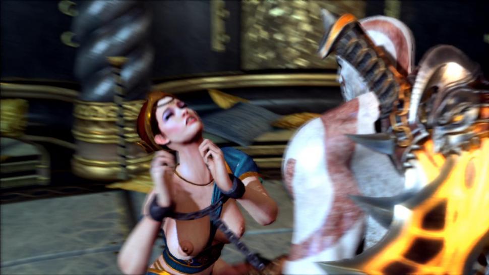 God of War: Ghost of Sparta-News: Kratos in Mini-Sex-Spiel