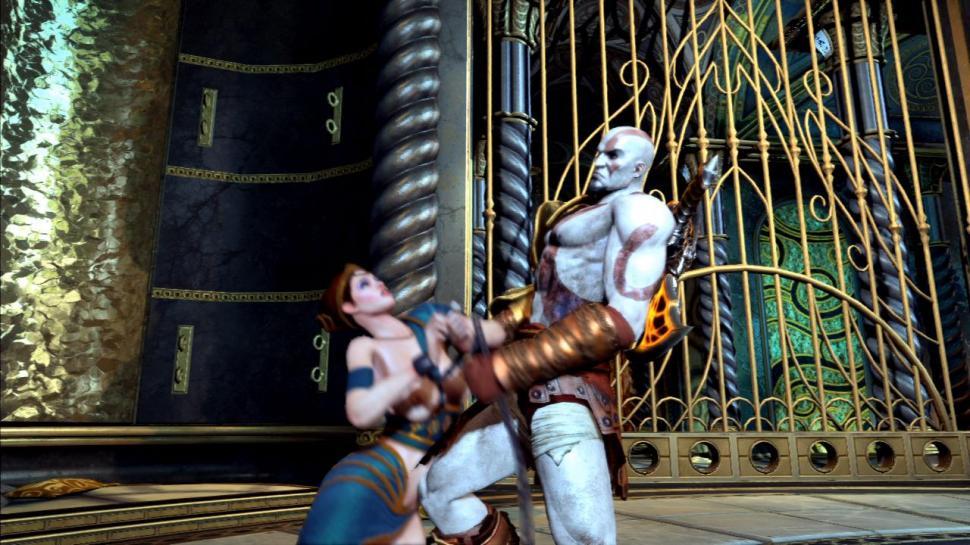 God of War 3: Video des Sex-Minispiels - Gamesaktuell