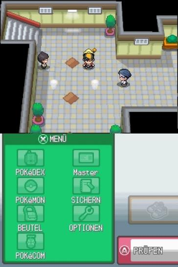 Screenshots aus Pokémon Heart Gold & Soul Silver für Nintendo DS. (1)