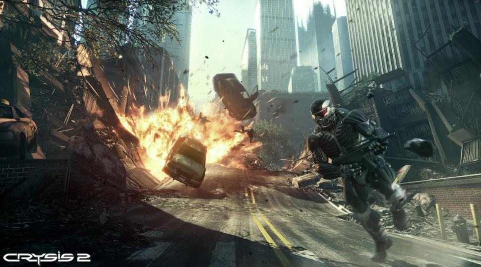 Screenshots aus Crysis 2.