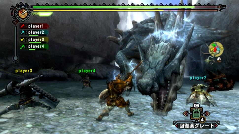 Screenshots aus Monster Hunter Tri (1)