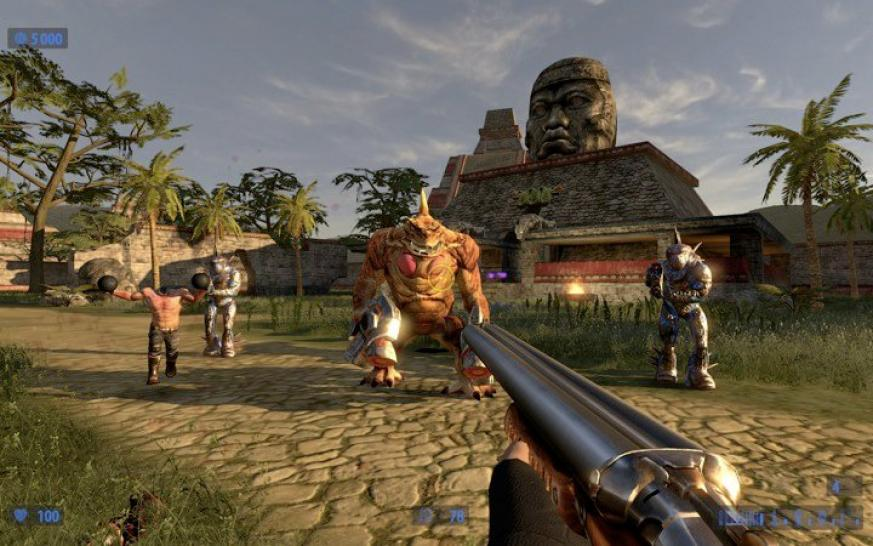 Serious Sam HD: The Second Encounter-Bilder. (1)
