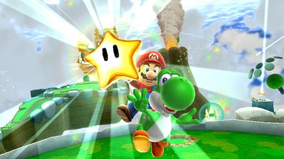 Screenshot aus Super Mario Galaxy 2.