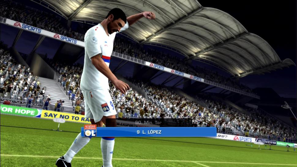 Screenshots aus FIFA 10. (2)