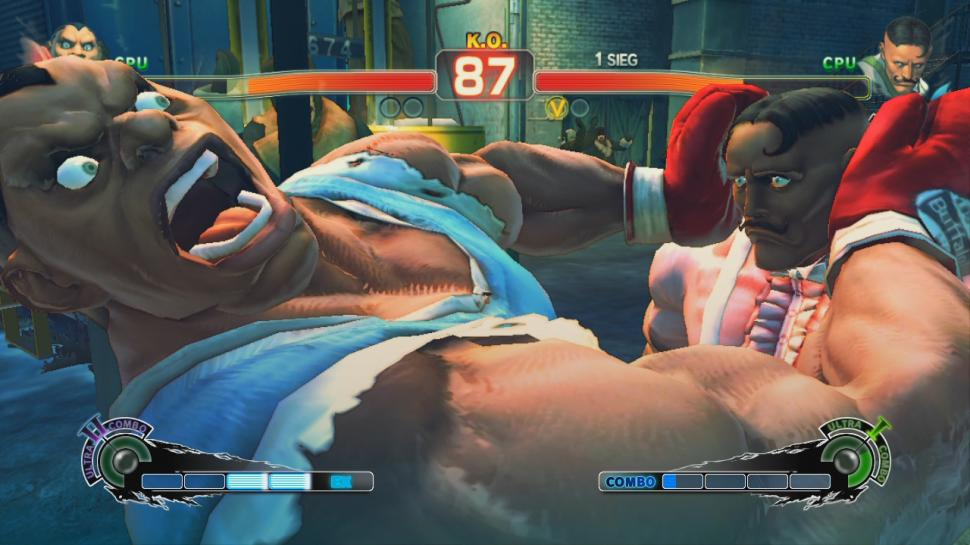 Screenshots aus Super Street Fighter 4. (1)