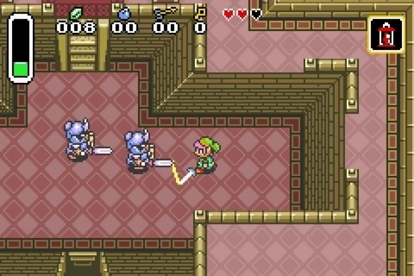 Bilder von The Legend of Zelda: A Link to the Past und F-Zero (1)