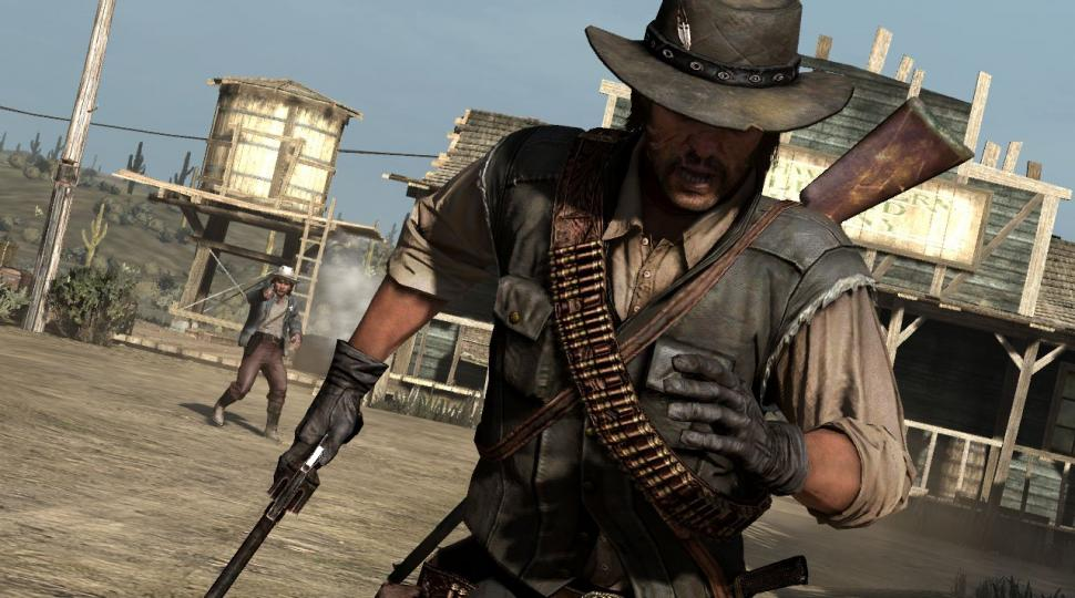 Screenshots aus Red Dead Redemption.