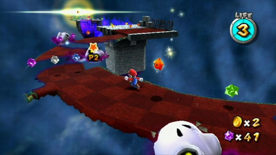 Screenshots aus Super Mario Galaxy 2 für Wii. (2)