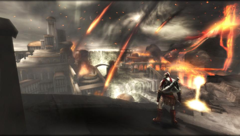 Die ersten Screenshots zu God of War: Ghost of Sparta für PSP. (1)