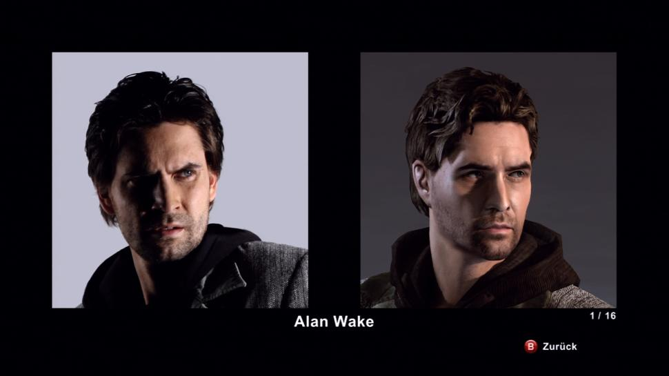Alan Wake Limited Edition - Die Schauspieler - Alan Wake