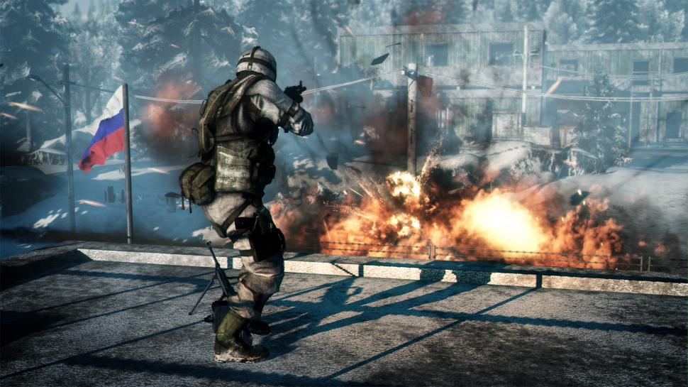 Screenshots aus dem Onslaught-Modus für Battlefield: Bad Company 2. (1)