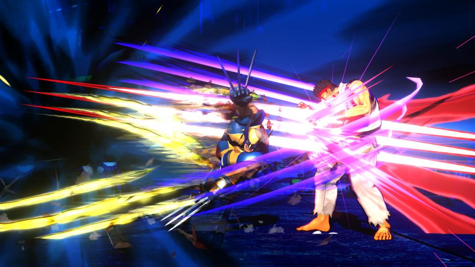 High-Res-Screenshots zu Marvel vs. Capcom 3 für PS3 und Xbox 360. (1)