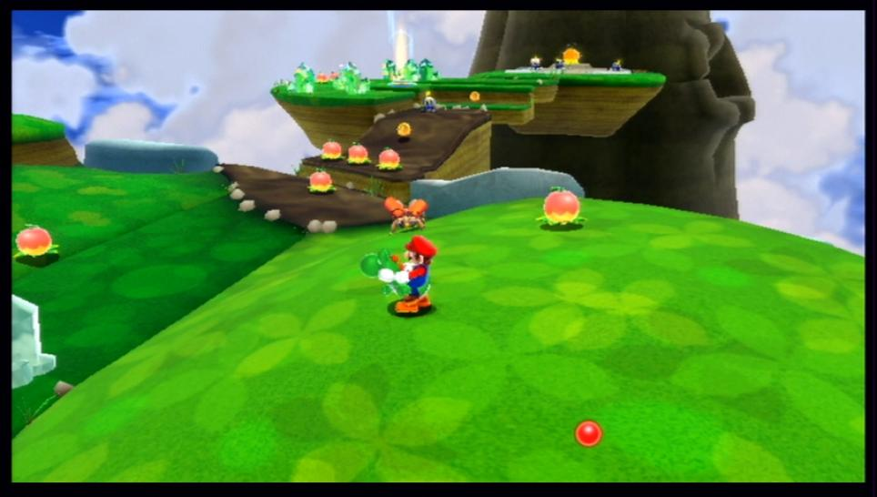Screenshots aus Super Mario Galaxy 2 für Wii.