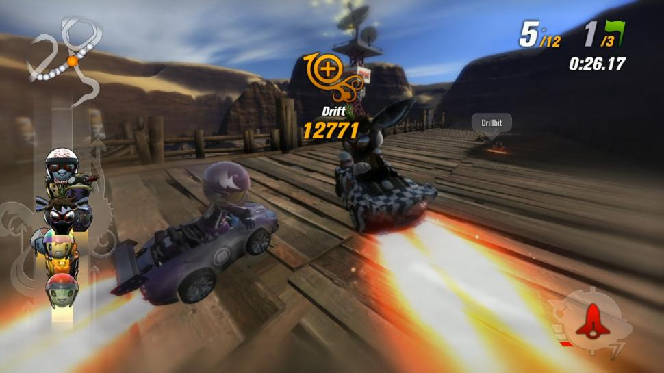 Screenshots aus Modnation Racers für PlayStation 3. (1)