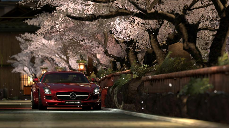 Gran Turismo 5 - Photo Mode - Kyoto Shirakawa - Mercedes Benz SLS AMG 10