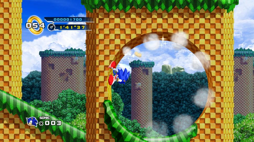 Screenshots aus Sonic the Hedgehog 4: Episode 1. (2)