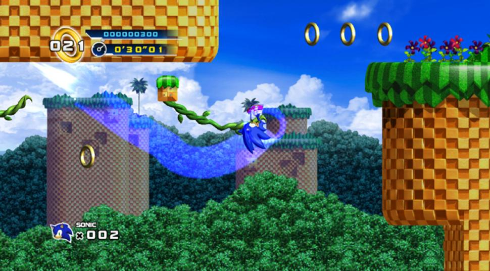 Screenshots aus Sonic the Hedgehog 4 Episode 1. (1)