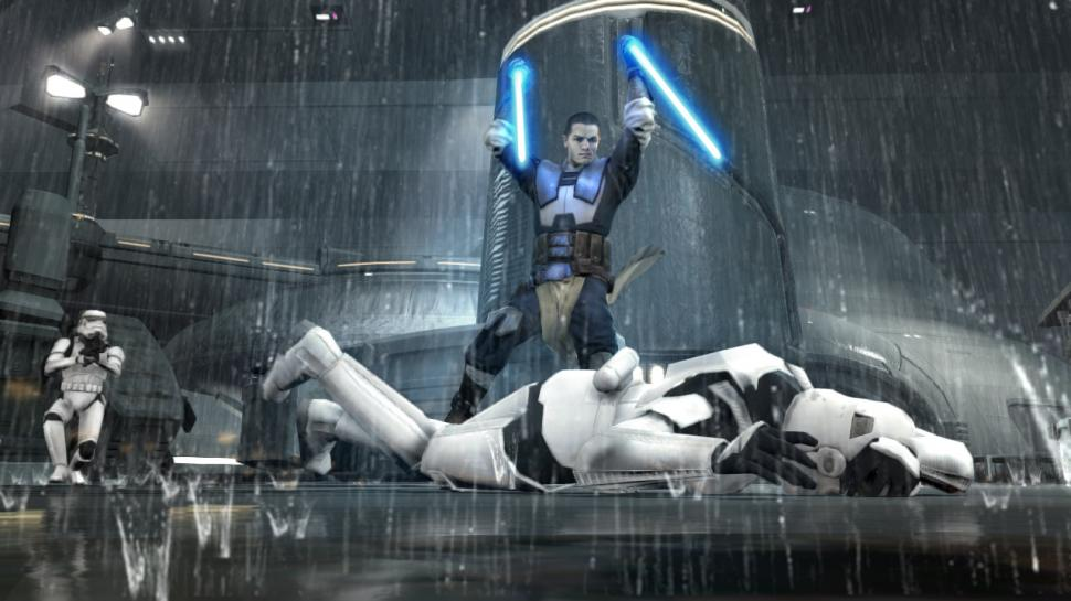 Screenshots aus Star Wars: The Force Unleashed 2.