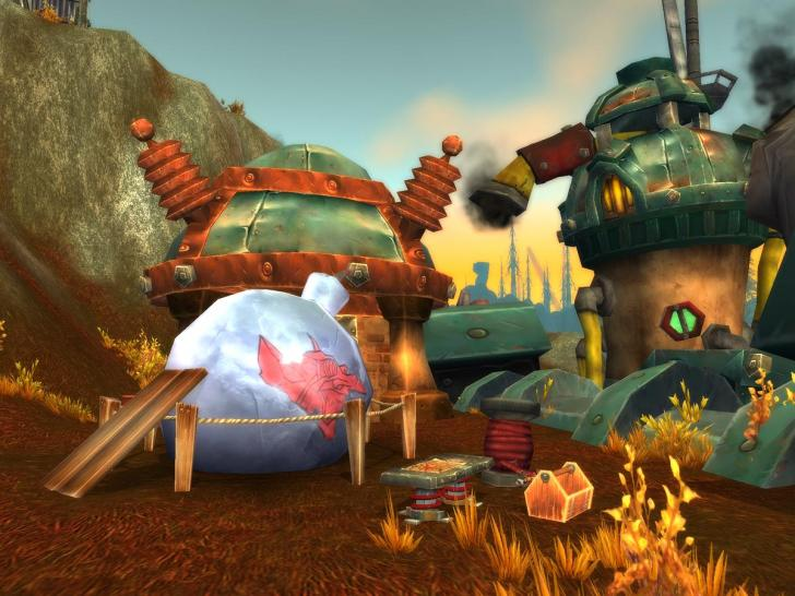 Screenshots aus dem PC-MMO World of Warcraft: Cataclysm.