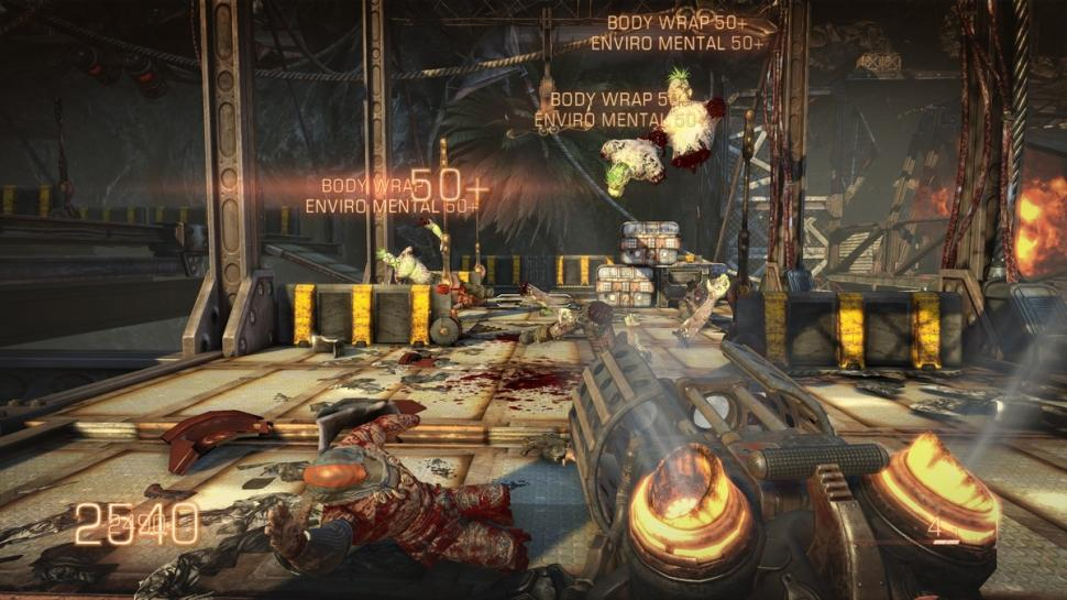 Screenshots aus Bulletstorm von Epic Games. (1)