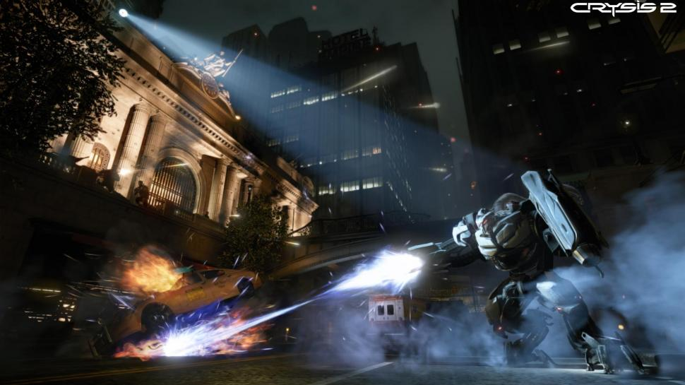 3D-Trailer zu Crysis 2 für PlayStation 3 und Xbox 360 als Video-Remake auf Basis der Crysis-1-Grafikengine. (1)