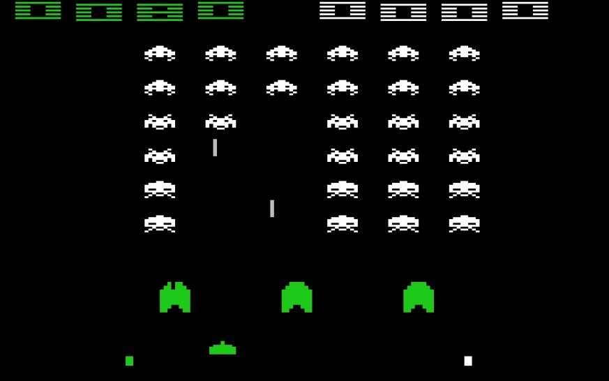 Space Invaders - Atari 2600 - Launch-Release: 1980