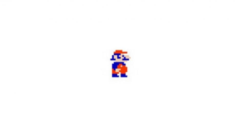 Super Mario in Super Mario Land (Gameboy, 1989)