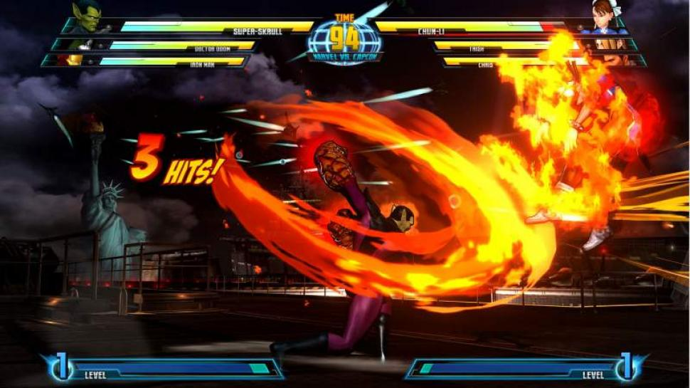Aktuelle Screenshots aus Marvel vs. Capcom 3. (1)