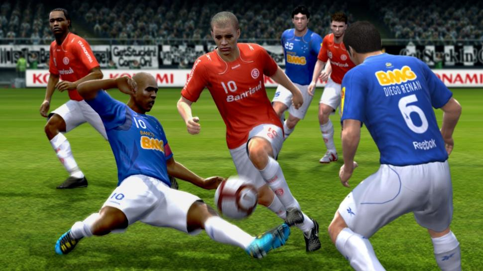 Screenshot aus PES 2011. (1)