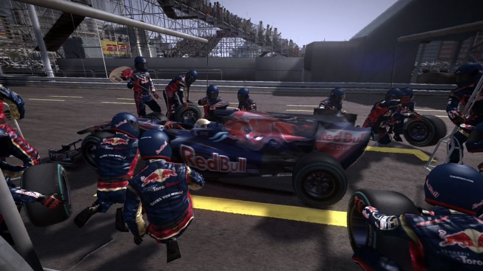 Aktuelle Screenshots aus F1 2010. (1)