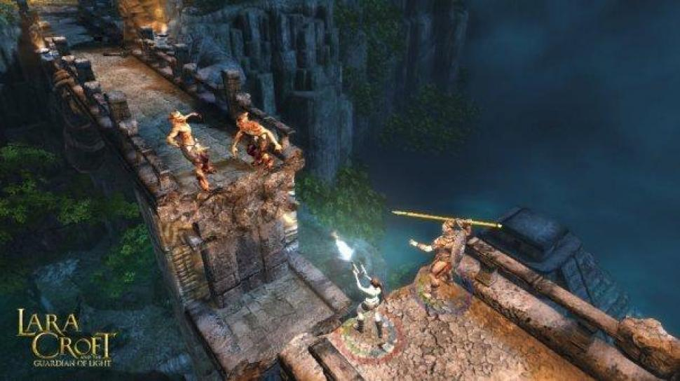 Lara Croft & the Guardian of Light - Bilder aus dem Arcade-Adventure  (1)