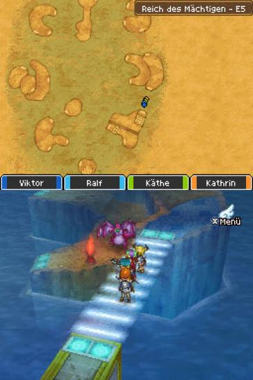 Screenshots aus Dragon Quest IX für Nintendo DS. (2)