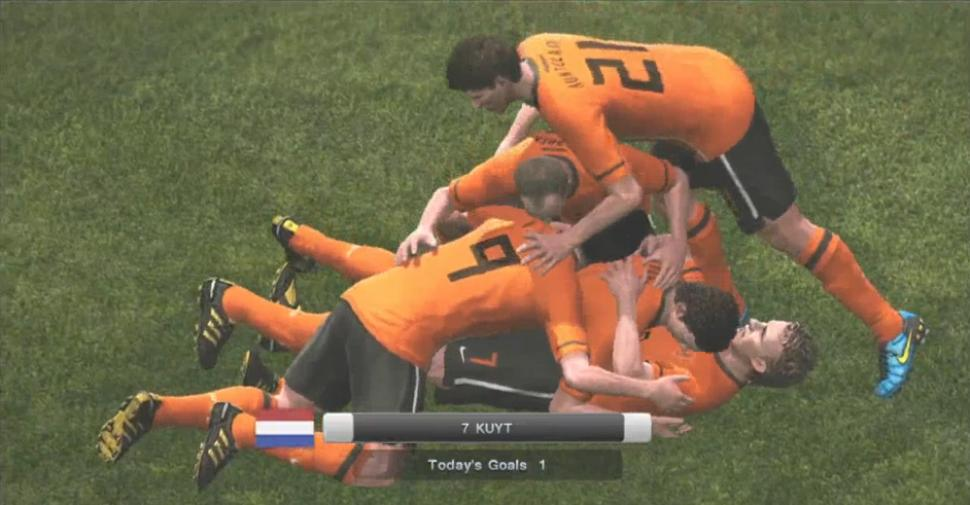 Screenshots aus PES 2011. (1)