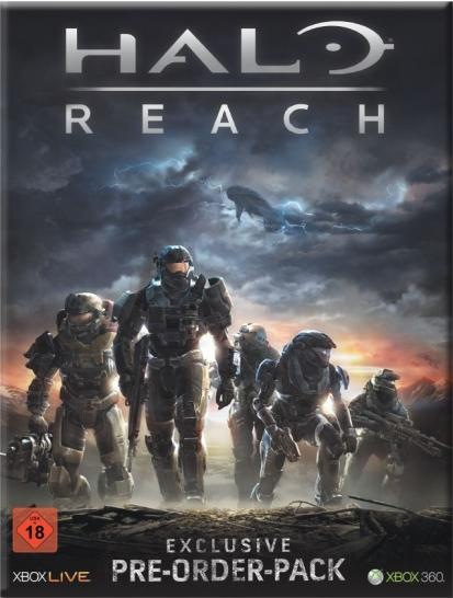 Halo Reach Preorder-Pack (1)