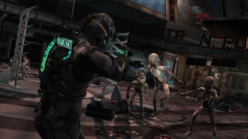 Screenshots aus Dead Space 2.