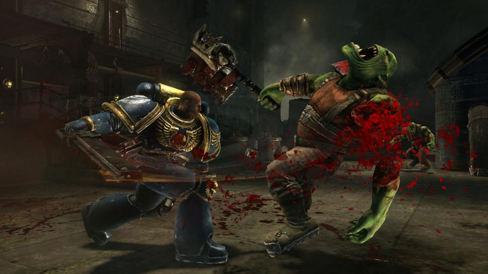 Gamescom-Screenshots und Messe-Trailer zu Warhammer 40k: Space Marine für PlayStation 3 und Xbox 360. (1)